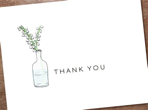 free thank you notes templates 6 best images of thank you note printable template