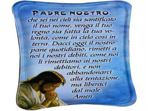 testo padre nostro va bene ripetere la preghiera padre nostro fratello