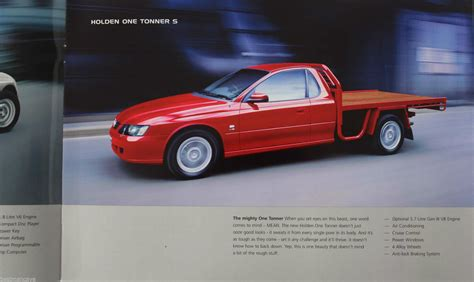 Holden Vy One Tonner Commodore Series 2 Sales Brochure
