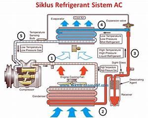 Siklus Refrigerant Pada Sistem Ac  Air Conditioner