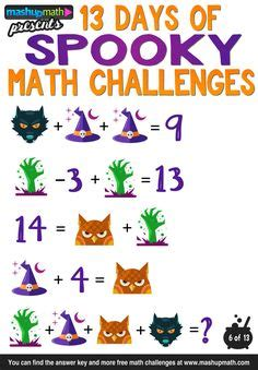 halloween math activities images halloween math