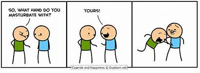 Masturbation Comics Fap Explosm Happiness Cyanide