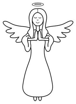 cartoon angel step  step drawing lesson