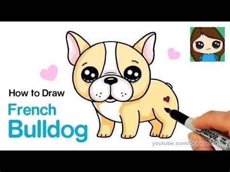 draw  french bulldog easy cartoon puppy