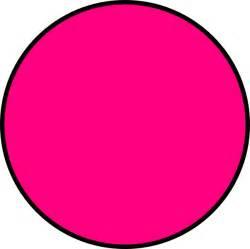 Pink Circle Clip Art