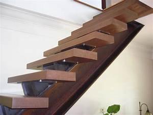 Fabriquer Son Escalier : escalier limon central du design et de la s curit en ~ Premium-room.com Idées de Décoration