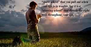 Prayer Is Not A... Spare Tyre Quotes