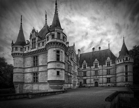 chateau d azay le rideau by rhipster on deviantart