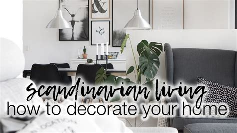 decorate  home scandinavian home decor