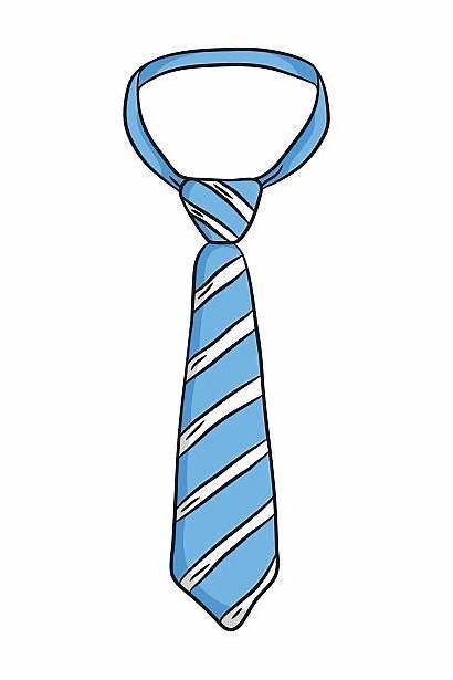 Tie Clipart Necktie Vector Clip Neck Stripes