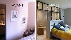 amenagement chambre avec dressing et salle de bain kirafes With chambre parentale avec dressing et salle de bain