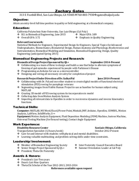 General Resume Objective For Fair by Career Fair Resume