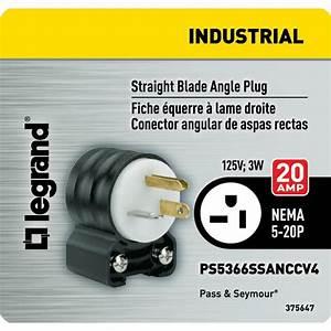 20 Amp Electrical Plug