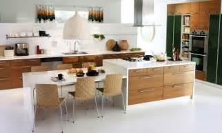 modern kitchen island table kitchen island with table attached mit leicht skandinavischem charme oben die küche ikea