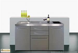 Petit Lave Vaisselle 6 Couverts : mini cuisine avec frigo lave vaisselle et induction mpgses 160 cuisine kitchenette cabinet ~ Farleysfitness.com Idées de Décoration