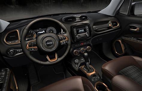 jeep renegade interior colors jeep renegade fica rebelde no salão de pequim auto