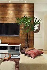 Wohnzimmer Tv Wand Ideen : die besten 25 holzwand wohnzimmer ideen auf pinterest tv wand wohnzimmer tv wand do it ~ Orissabook.com Haus und Dekorationen