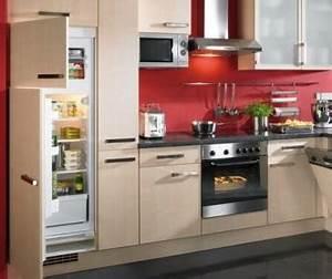 Installer une cuisine tout pratique for Idee deco cuisine avec cuisine tout Équipée avec Électroménager