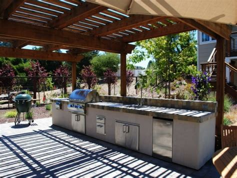 el refugio perfecto ideas de cocinas al aire libre