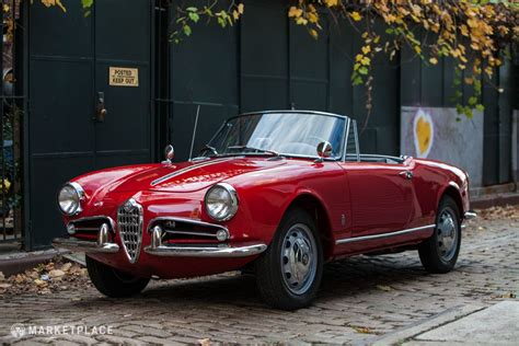 1962 Alfa Romeo Giulietta Spider Veloce ($125,000
