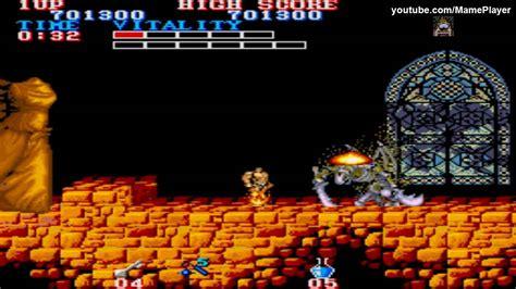 Black Tiger Round 7 1987 Capcom Mame Retro Arcade Games