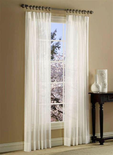 Sheer Drapes by Splendor Batiste Curtains Pinch Pleated Sheer Draperies Ebay