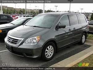 Nimbus Gray Metallic - 2008 Honda Odyssey Ex-l - Gray Interior
