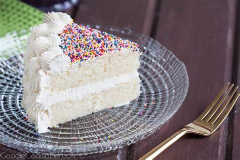 white cake recipe  scratch goodie godmother