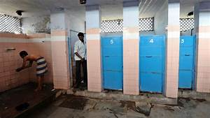 India men pose with toilets to woo brides public radio for Indian public bathroom