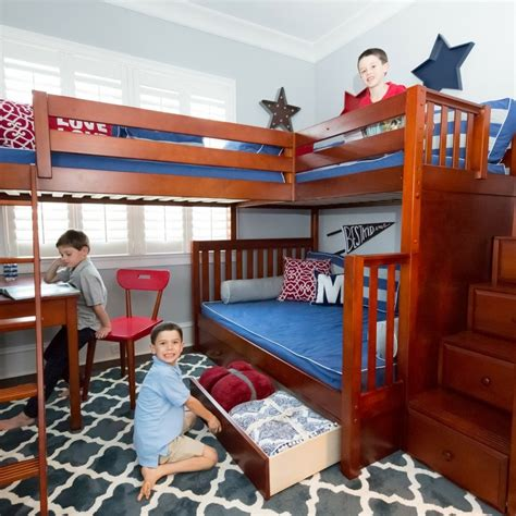25 Interesting L Shaped Bunk Beds Design Ideas You'll Love. Wood Stand Up Desk. Ikea Wall Mounted Laptop Desk. Contemporary Home Desk. Kid Bed With Desk. Foam For Tool Drawers. Ikea Round Dining Table. Two Drawer Wood File Cabinet. Jesper Desk