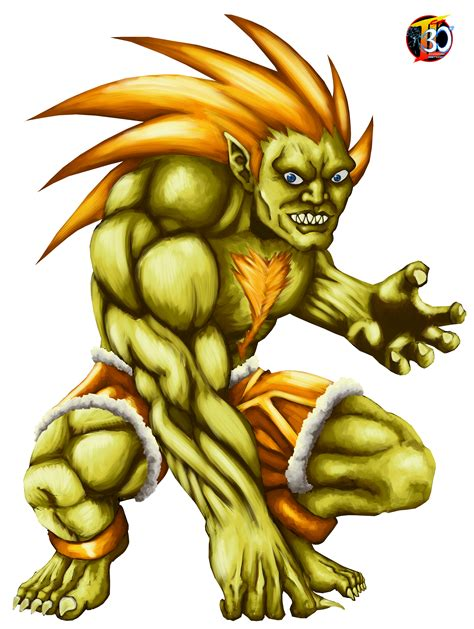 Our Street Fighter 30th Tribute Blanka From Brazil In