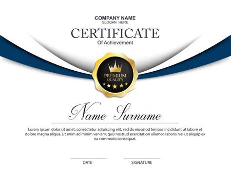 award certificate vectors   psd files
