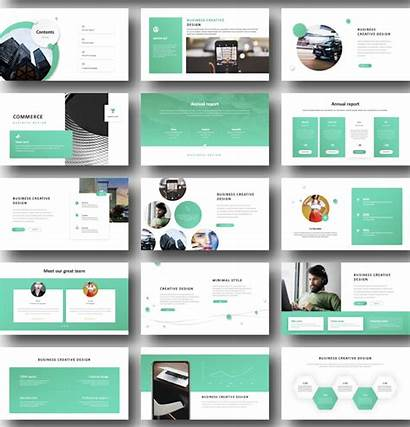 Powerpoint Template Templates Minimal Contents