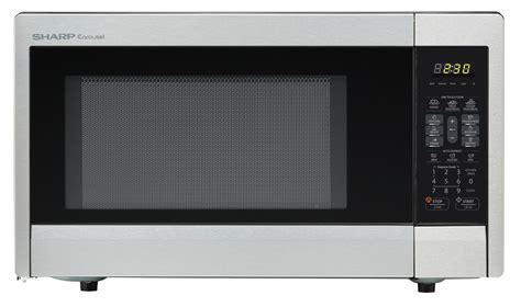 R 331ZS: 1.1 Cu Ft Stainless Steel Microwave Oven