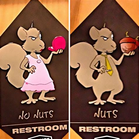 clever menwomen bathroom signs thatll   smile