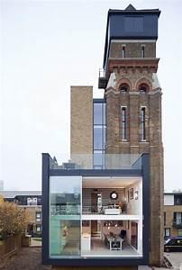 Derelict, To, Divine, Charlie, Chaplin, U0026, 39, S, London, Water, Tower, Home