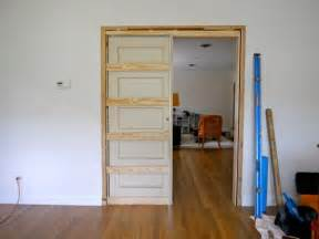 how to build a pocket door c r a f t