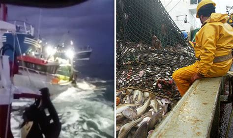 French Fishing Boat Attack by Brexit News Fisherman Rages At Arrogant France For