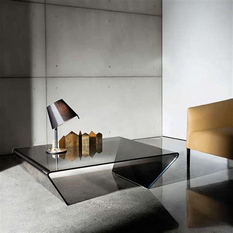table basse design rectangulaire ou carr 233 e en verre rubino sovet 174 4 pieds tables chaises