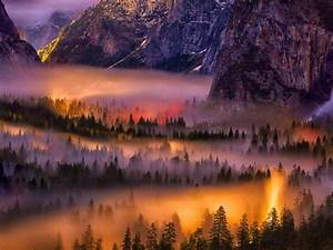 Best Photos In Photoshop Fire Yosemite National Park ...