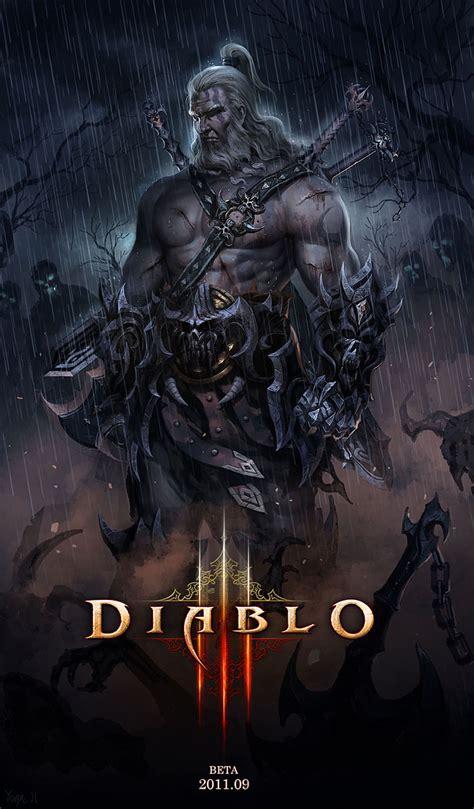 Diablo 3 Fan Art Diablo Watch 113 Monk Barbarian