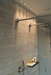 Shower lights at the lakes contemporary bathroom for In shower lighting