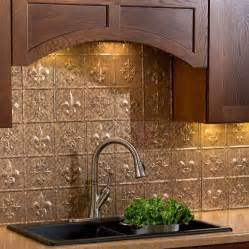fasade kitchen backsplash panels fasade backsplash fleur de lis in cracked copper