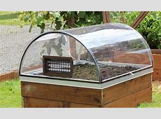 GroWizard Raised Garden Greenhouse System CrystaLite, Inc