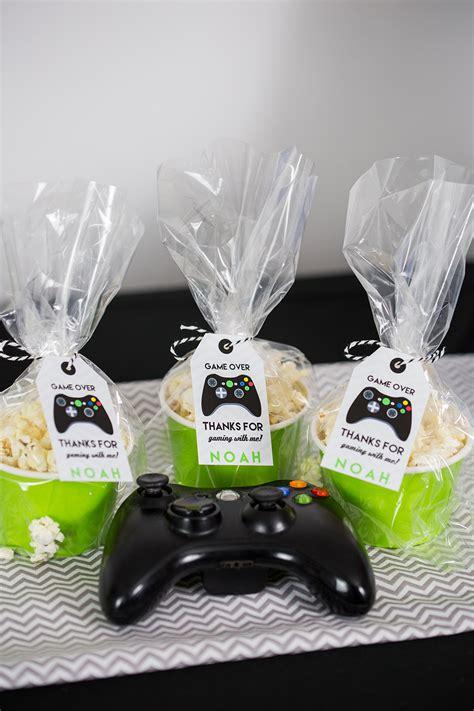 video game birthday party printables  invitation