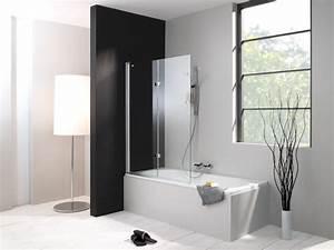Duschwand Für Badewanne : duschabtrennung badewanne glas kunststoff ~ Michelbontemps.com Haus und Dekorationen