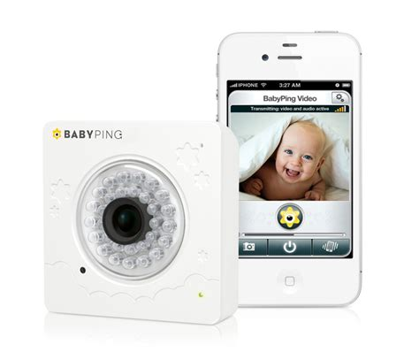 baby monitor iphone the in baby monitors hits the us babyping wifi