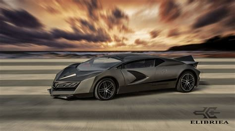 Qatar's First Luxury Sports Car Is Called the Elibriea ...