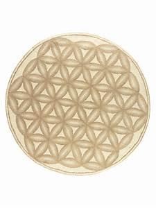 Tapis Rond Beige : tapis rond beige en laine vierge et motifs en relief helline ~ Teatrodelosmanantiales.com Idées de Décoration