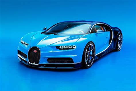 Bugatti Chiron Rockets To Geneva Motor Show With Nearly